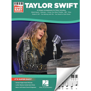 Taylor Swift: Super Easy Songbook (Easy Piano)