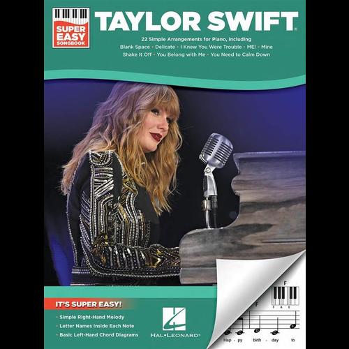 Hal Leonard Taylor Swift: Super Easy Songbook (Easy Piano)