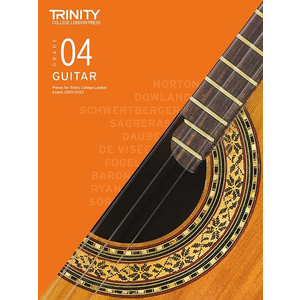 Trinity College London: Guitar Exam Pieces & Exercises 2020-2023 - Grade 4 (Book Only)