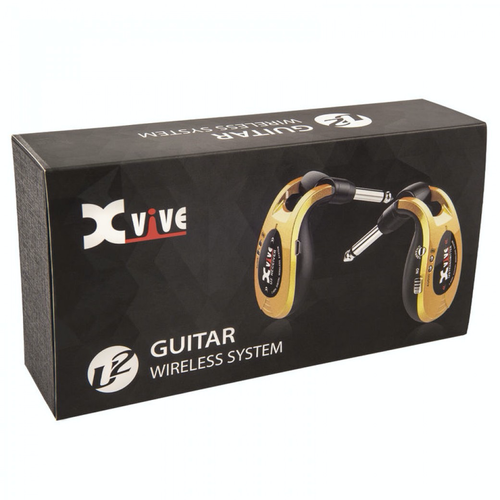 Xvive Xvive U2 Wireless Guitar System, Gold