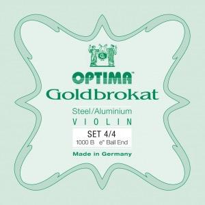 Optima Goldbrokat Violin String Set, 4/4 Size