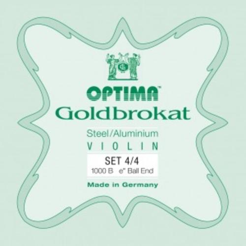 Optima Optima Goldbrokat Violin String Set, 4/4 Size