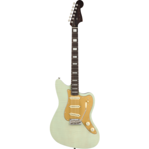 Fender Limited Edition Parallel Universe Vol II Stratocaster Jazz Deluxe, Transparent Faded Seafoam Green