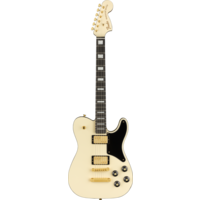 Fender Limited Edition Parallel Universe Vol II Troublemaker Tele Deluxe, Olympic White