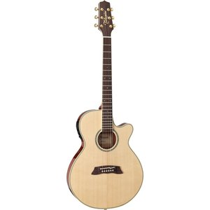 Takamine Thinline FX, Solid Spruce Top, Sapele Back