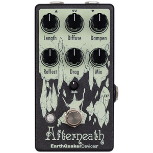 EarthQuaker Devices Afterneath V3 Enhanced Otherworldly Reverberator Effects Pedal