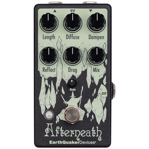 Earthquaker Devices EarthQuaker Devices Afterneath V3 Enhanced Otherworldly Reverberator Effects Pedal