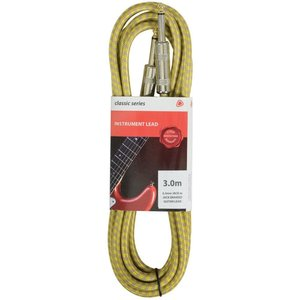 Chord Braided Tweed Guitar Cable, Tweed