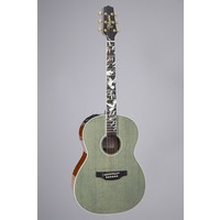 Takamine LTD 2020 Peace Guitar, Solid Spruce Top, Ovangkol Back, Foliage Green