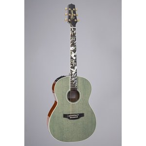 Takamine LTD 2020 Peace Guitar, Solid Spruce Top, Ovangkol Back, Foliage Green
