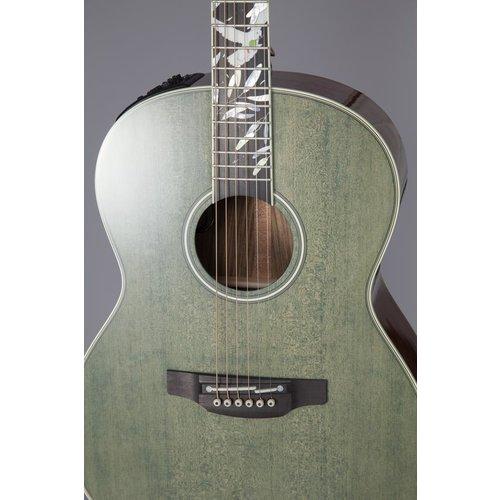 Takamine Takamine LTD 2020 Peace Guitar, Solid Spruce Top, Ovangkol Back, Foliage Green