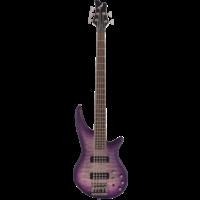 Jackson JS Series Spectra 5-String Bass JS3QV, Purple Phaze