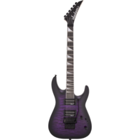 Jackson JS Series Dinky Arch Top DKA JS32Q, Transparent Purple Burst
