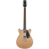 Gretsch G5222 Electromatic Double Jet BT with V-Stoptail, Aged Natural