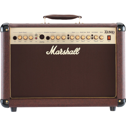 Marshall Marshall AS50D 50W Acoustic Soloist Combo Amplifier