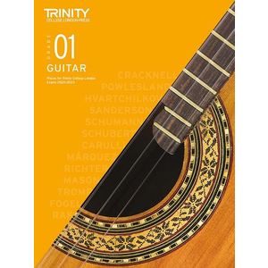 Trinity College London: Guitar Exam Pieces & Exercises 2020-2023 - Grade 1 (Book Only)