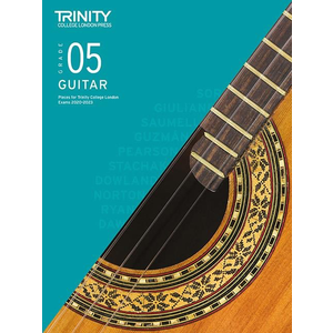 Trinity College London: Guitar Exam Pieces & Exercises 2020-2023 - Grade 5 (Book Only)