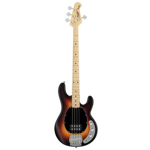 Sterling SUB RAY4 Bass Guitar, Translucent Sunburst Satin