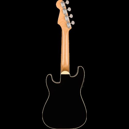 Fender Fender Fullerton Strat Concert Ukulele, Black