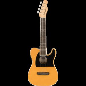 Fender Fullerton Telecaster Concert Ukulele, Butterscotch Blonde