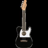 Fender Fullerton Telecaster Concert Ukulele, Black