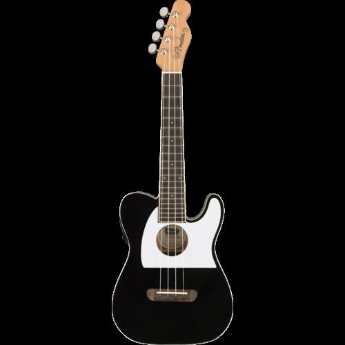 Fender Fender Fullerton Telecaster Concert Ukulele, Black