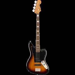 Squier Classic Vibe Jaguar Bass, Laurel Fingerboard, 3-Colour Sunburst
