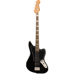 Squier Classic Vibe Jaguar Bass, Laurel Fingerboard, Black