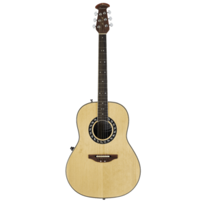 Ovation Signature Collection Glen Campbell Non-Cutaway, Mid Depth, Natural