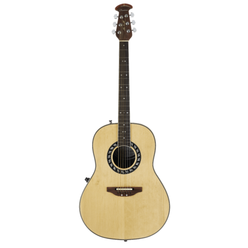 Ovation Ovation Signature Collection Glen Campbell Non-Cutaway, Mid Depth, Natural