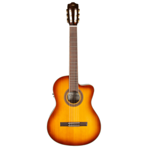 Cordoba C5-CESB Electro-Classical Guitar, Solid Spruce Top, Sunburst
