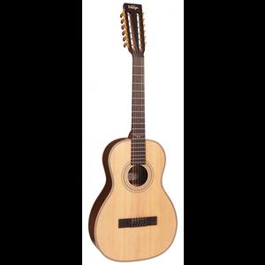 Vintage Viator Paul Brett Signature 12-String Electro-Acoustic Travel Guitar
