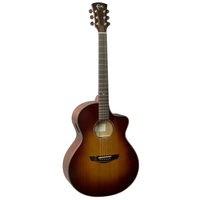 Faith Classic Burst Neptune Electro-Acoustic, 45mm Nut, All Solid, Red Cedar Top, Mahogany Back