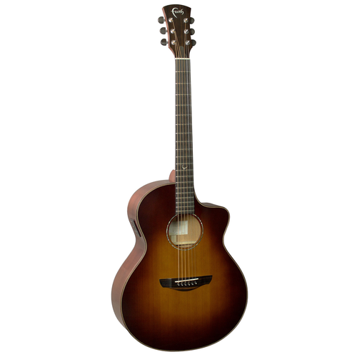 Faith Faith Classic Burst Neptune Electro-Acoustic, 45mm Nut, All Solid, Red Cedar Top, Mahogany Back
