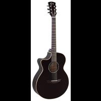 Faith Eclipse Venus Electro-Acoustic, Left Handed, All Solid, Engelmann Spruce Top, Mahogany Back