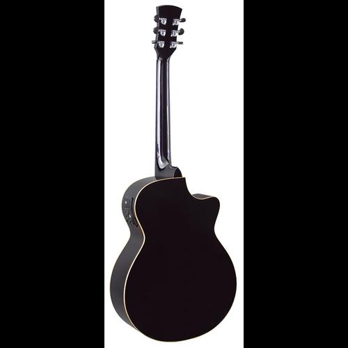 Faith Faith Eclipse Venus Electro-Acoustic, Left Handed, All Solid, Engelmann Spruce Top, Mahogany Back