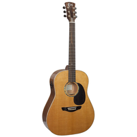 Faith PJE Legacy Mars Electro-Acoustic, All Solid, Torrefied Sitka Spruce Top, African Khaya Mahogany Back