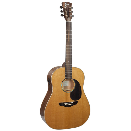 Faith Faith PJE Legacy Mars Electro-Acoustic, All Solid, Torrefied Sitka Spruce Top, African Khaya Mahogany Back