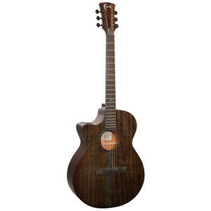 Faith Nexus Venus, Left Handed Electro-Acoustic, All Solid Mahogany, Copper Black