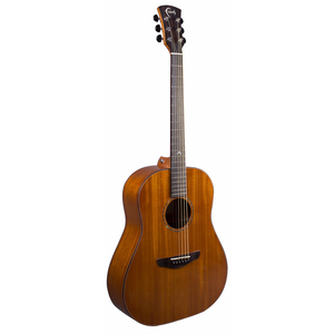 Faith Mahogany Mars Left Handed Drop Shoulder Dreadnought, All Solid Mahogany