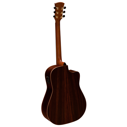 Faith Faith HiGloss Saturn Electro-Acoustic, All Solid, Engelmann Spruce Top, Rosewood Back