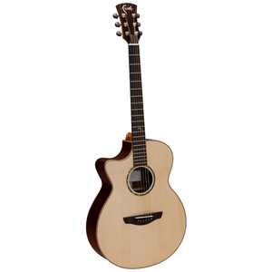 Faith HiGloss Venus Left Handed Electro-Acoustic, All Solid, Engelmann Spruce Top, Mahogany Back