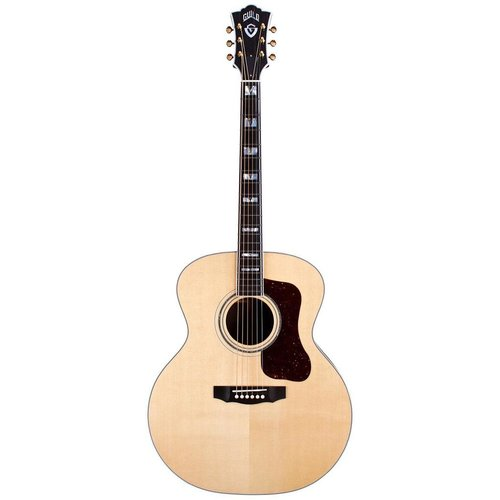 Guild Guild F-55E, Electro-Acoustic, All Solid, Sitka Spruce Top, Rosewood Back, Natural Nitro