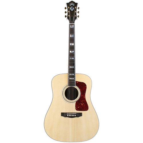 Guild Guild D-55E, Electro-Acoustic, All Solid, Sitka Spruce Top, Rosewood Back, Natural Nitro