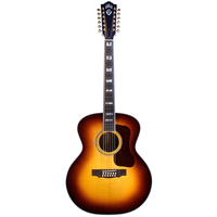 Guild F-512 ATB 12-String, All Solid, Sitka Spruce Top, Rosewood Back, Antique Burst Nitro