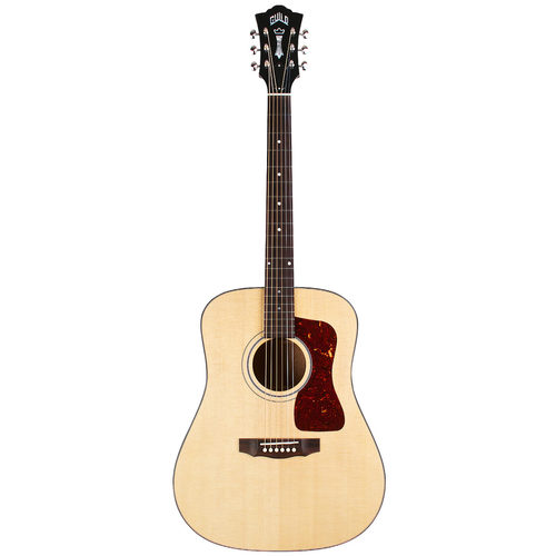 Guild Guild D-40 Traditional, All Solid, Sitka Spruce Top, Mahogany Back, Natural Nitro