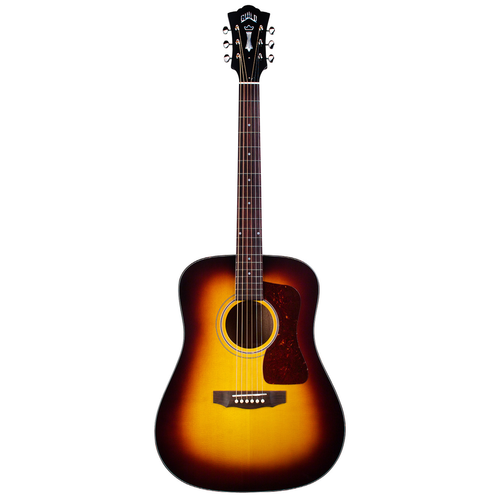 Guild Guild D-40 Traditional ASB, All Solid, Sitka Spruce Top, Mahogany Back, Antique Burst Nitro