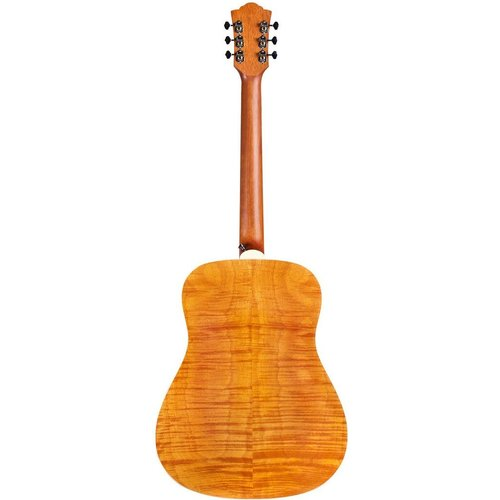 Guild Guild D-240E Limited Electro-Acoustic, Solid Sitka Spruce Top, Flamed Mahogany Back, Natural Satin