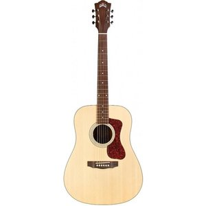 Guild D-240E Left Handed, Electro-Acoustic, Solid Sitka Spruce Top, Mahogany Back, Natural Satin
