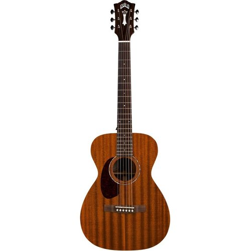 Guild Guild M-120E Left Handed, Electro-Acoustic, All Solid Mahogany, Natural Gloss